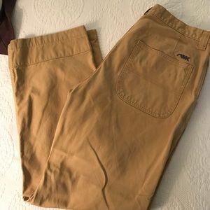 Mountain Khaki- Men's Dark Khaki Pants, SZ 36x30
